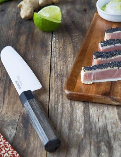 Japońskie noże ceramiczne Kyocera GRAFIKA (2)
