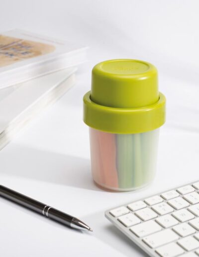 GoEat Compact 2-in-1 snack pot - Green