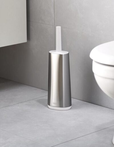 Szczotka toaletowa, stalowa, Flex Joseph Joseph