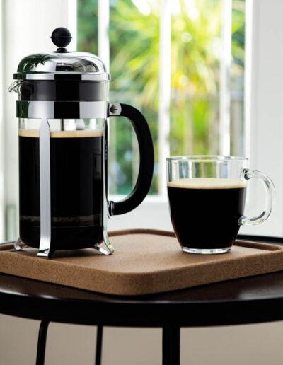 parzenie kawy bodum