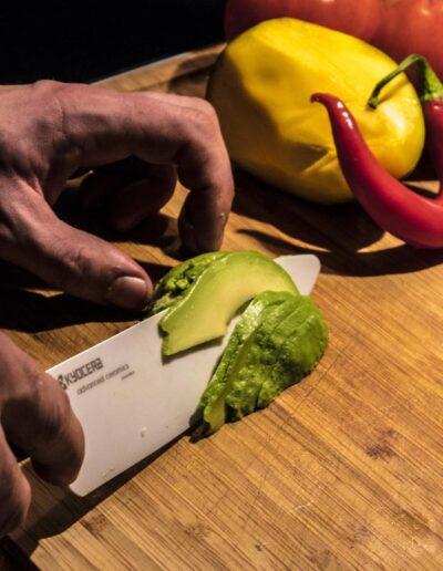Krojenie nożem Kyocera