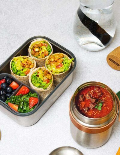 Black+Blum zestaw lunchboxy zestali nierdzewnej
