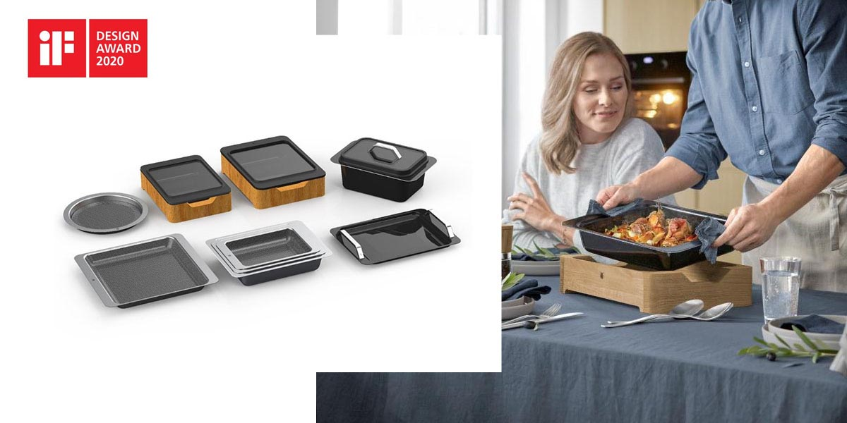 Formy dopieczenia Oven Collection iF Design Award 2020